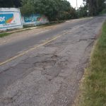 Reportan vibraciones en casas por culpa de vía destrozada, en Huatusco